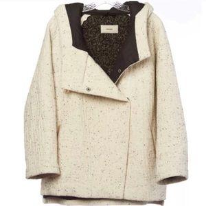 Humanoid | Speckled Virgin Wool Pea Coat